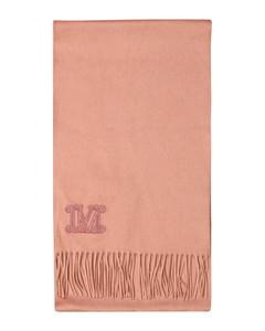 Wsdalia cashmere scarf with logo