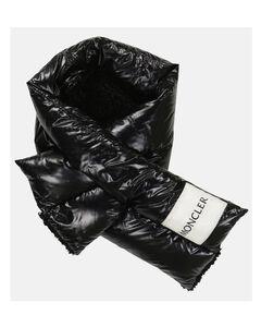 羽绒填充围巾