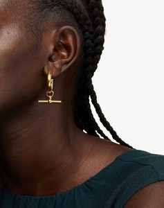 Houndstooth and logo-intarsia wool-blend scarf