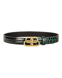 BB Thin Belt in Green