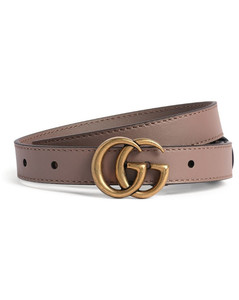 Leather Mini Marmont Belt Size 65