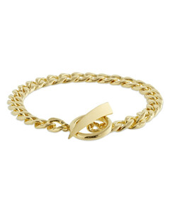 Claw T-bar Chain Bracelet