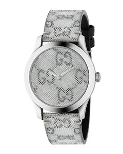 38MM G-Timeless Holographic Watch in Metallic
