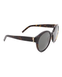 SLM31 round acetate sunglasses