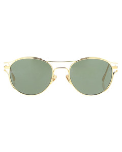 Women's Universal fit sunglasses in shiny black and gradient smoke