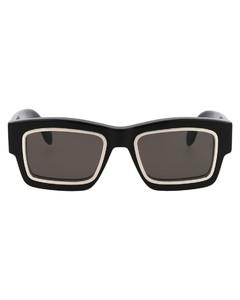棉质人字纹渔夫帽