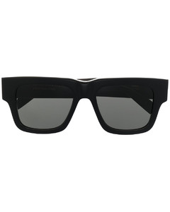 Medusa-medallion metal necklace