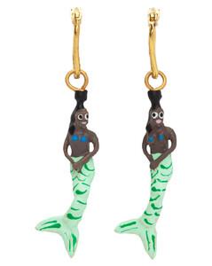 Reissued Archive Tassel Print Silk Square Scarf