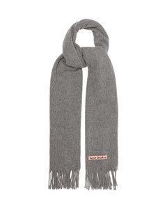 Canada New fringed wool scarf