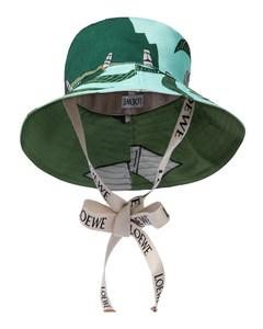 x Ken Price Easter Island bucket hat