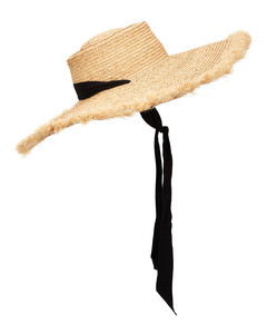Ventura straw wide-brim hat