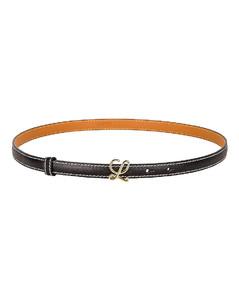 L Buckle Belt in Black