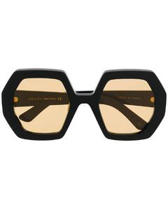 超大七角框太阳眼镜