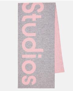羊毛混纺围巾