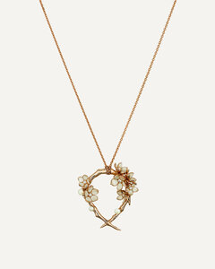 scarf in paisley patterned silk