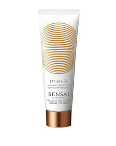 Silky Bronze Cellular Protective Cream For Face Spf 50 (50Ml)