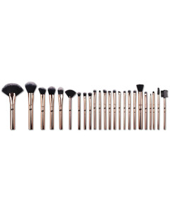 Lush Rose Gold 24 Piece Makeup Brush Collection