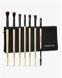 Earth to Babe bamboo 7-piece brush set
