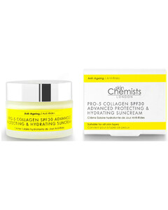 London Pro-5 Collagen SPF30 Advanced Anti-Ageing Protecting and Hydrating Sun Cream 50ml