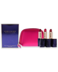 Estee Lauder Pure Color Envy Sculpting Lipstick Trio (260,280,340) 3pcs+1bag