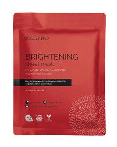 Brightening Collagen Sheet Mask with Vitamin C