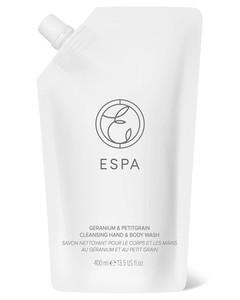Essentials Geranium and Petitgrain Body Wash 400ml
