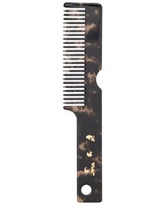Meteor Dark Havana Gold Hair Comb