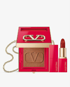 Go-Clutch Bronzer and Minirosso Lipstick bundle