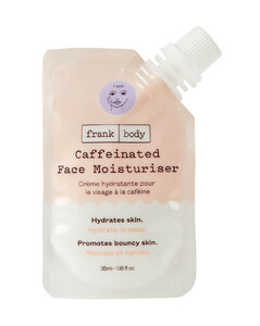 Caffeinated Face Moisturiser Pouch 35ml