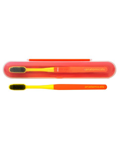 And Ain't That The Tooth Toothbrush & Case - Orange