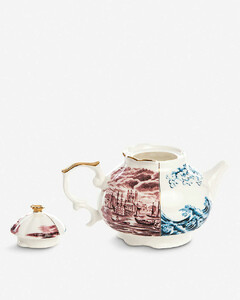 Smeraldina Hybrid printed porcelain teapot