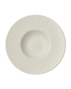 Manufacture Rock Blanc Pasta Plate (29Cm)
