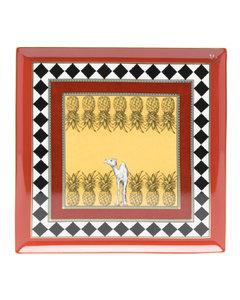 x Diesel Cosmic Dinner Lunar stonewear and brass coffee set
