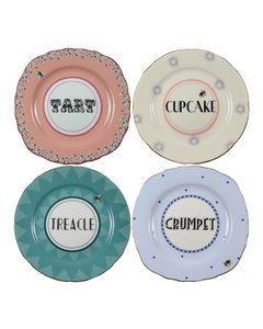 Pin Stripe Oval Platter (39Cm)