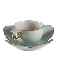 Butterfly Tea Cup And Saucer Set