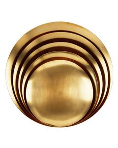 金色大号Form餐碗套装