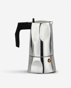 Ossidiana aluminium casting espresso coffee maker 13cm