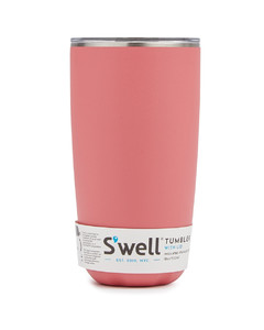Matte coral stainless steel tumbler 530ml