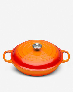 Signature cast iron casserole dish 26cm
