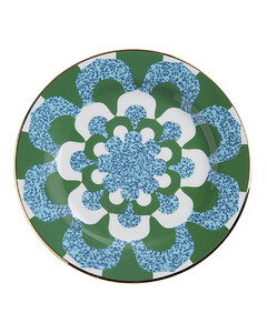Set Of 2 Mosaico Blu Dessert Plates