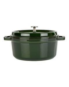 Green Round Casserole Dish (24cm)