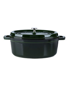 Green Oval Cocotte (31cm)