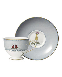 + Kit Kemp Sailor's Farewell Teacup and Saucer