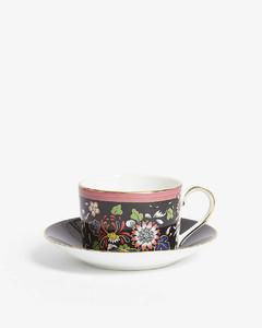 Wonderlust Oriental Jewel teacup and saucer