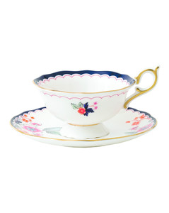 Wonderlust Jasmine Bloom Teacup and Saucer