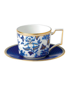 Hibiscus Iconic Teacup And Saucer