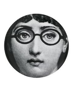 Set Of 2 Wildbird Blu Dessert Plates