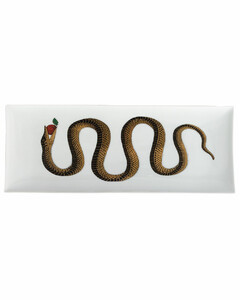 Set Of 2 Wildbird Rosso Dessert Plates