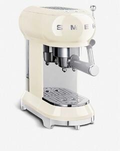 cream espresso machine
