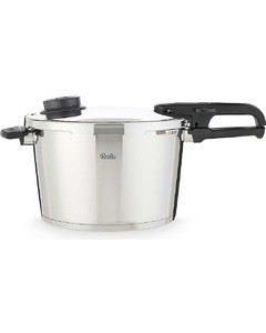 vitavit®premium stainless steel pressure cooker 8 litre